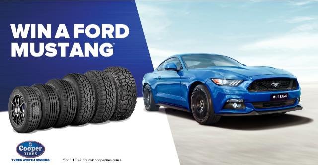 WIN a Ford MUSTANG